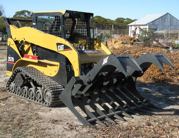 Brush Root Grapple designed for Skid Steer Loaders