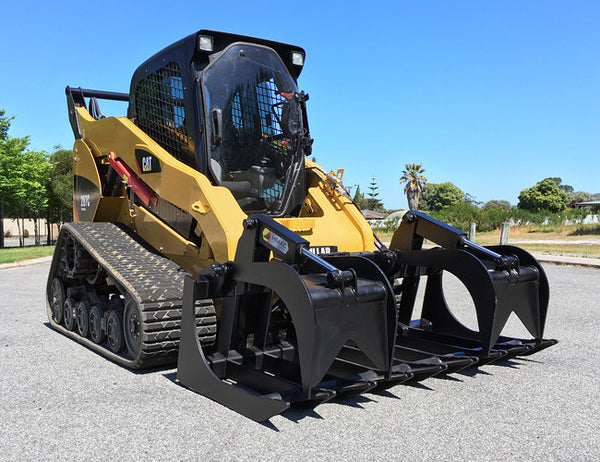 Himac Brush Grapple Attachment for Skid Steers