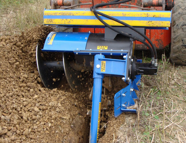 Himac Chain Trencher - can be used in all conditions