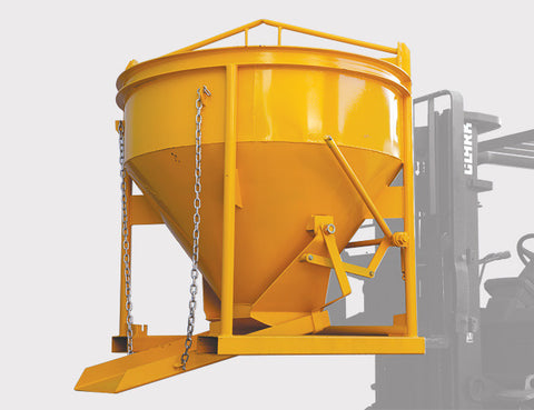 Concrete Kibble - designed to be transported with Pallet Forks / Forklifts