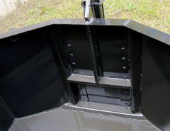 Hydraulic door - operational from your Skid Steer cab