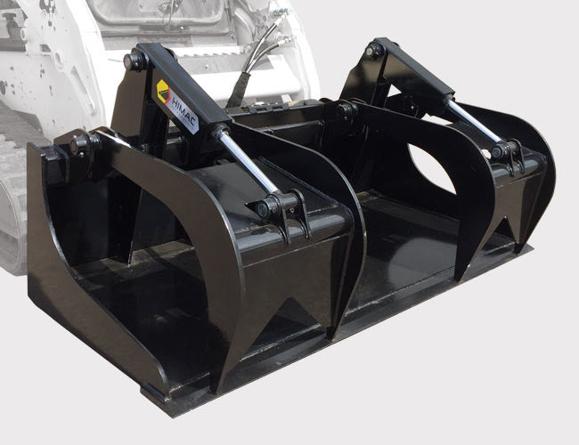 Himac Demolition Grapple Bucket for Skid Steer Loaders