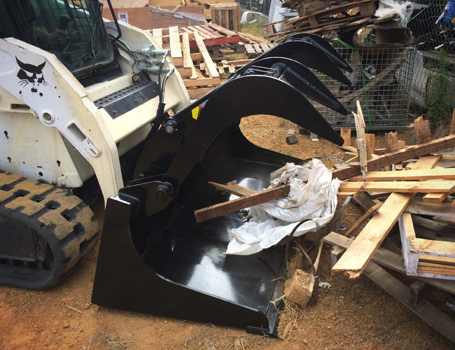 Scoop up material and carry with ease using our Demolition Grapple