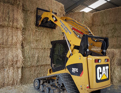 Stack and retrieve bales efficiently with Himac Hay Forks