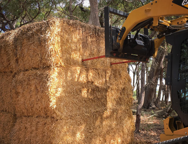 Hay Forks for easy on-farm bale transportation
