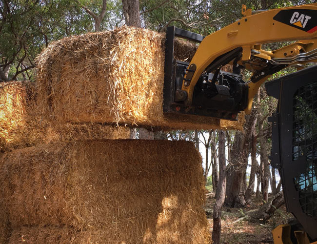 Save time and your back with Himac Hay Forks