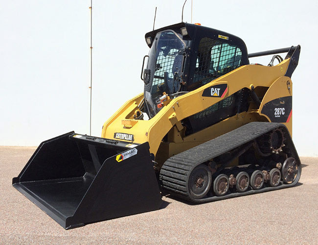 Himac Bucket designed for Skid Steers and Track Loaders