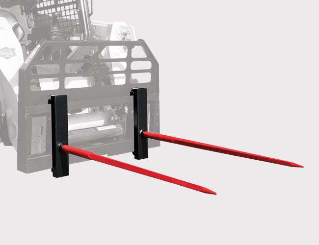 NEW Optional Hook-on Hay Spear for Himac Pallet Forks