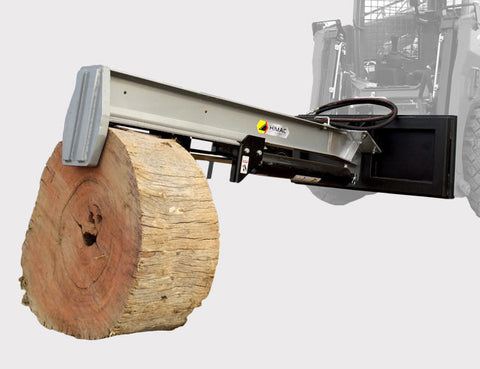 Log Splitter attachment for Skid Steers and Track Loaders