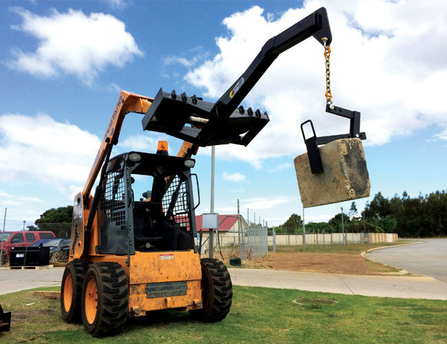 Limestone Grab - works with all types of Himac Lifting Jibs
