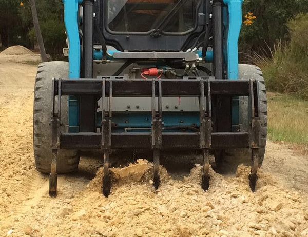 Skid Steer Ripper from Himac Attachments