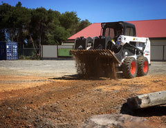 Bar spacing allow effective sifting of dirt with your Skid Steer
