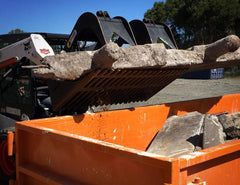 Demolition and scrap clean up has never been so easy!