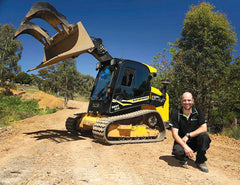 Optional Heavy Duty Grapple available from Himac