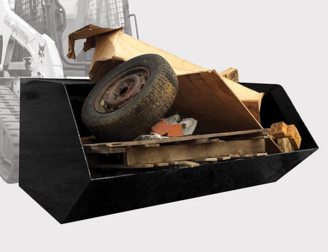 Skip Bin for Skid Steers from Himac