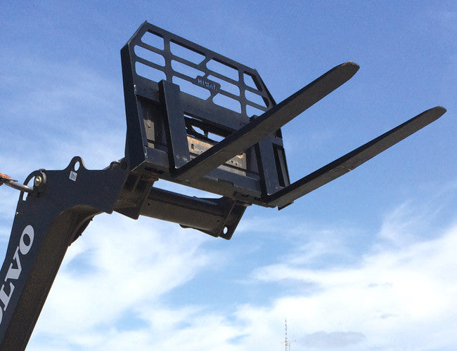 Skid Steer Forks from Himac - certified to AS2359