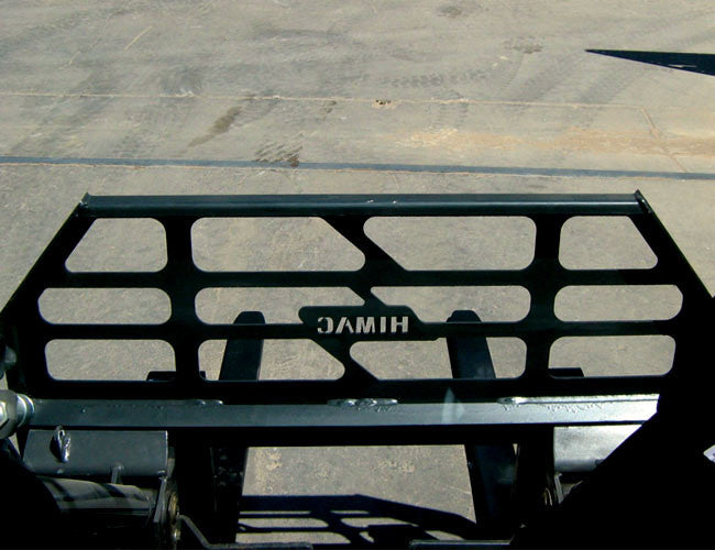 Himac Skid Steer Forks designed for maximum visibility