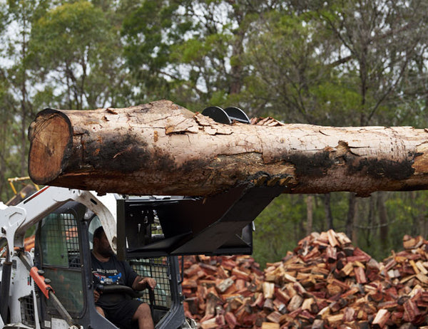 Stump Bucket Grapple