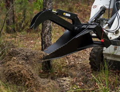 Stump Bucket Grapple Vegetation Control