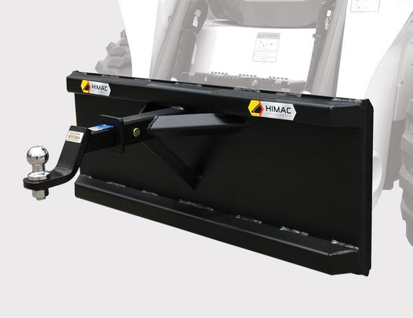 Tow trailers with this handy skid steer attachment