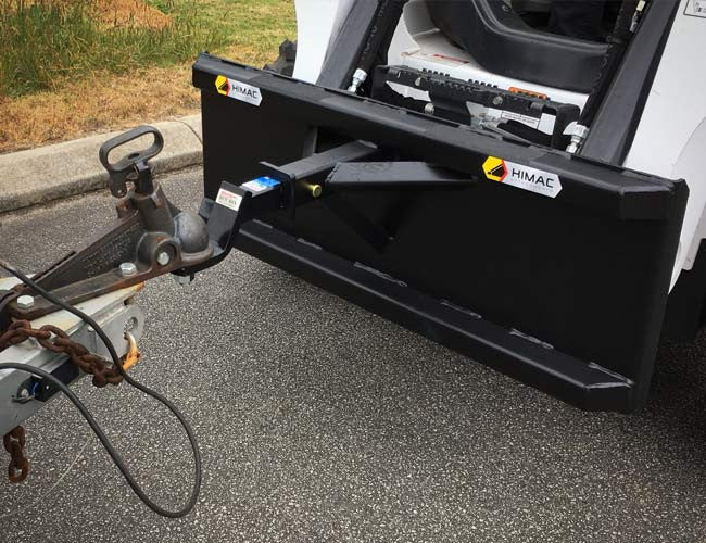 Himac Trailer Spotter with Reese-style hitch