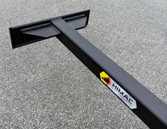 Custom widths and lengths available - Himac Scraper Attachment