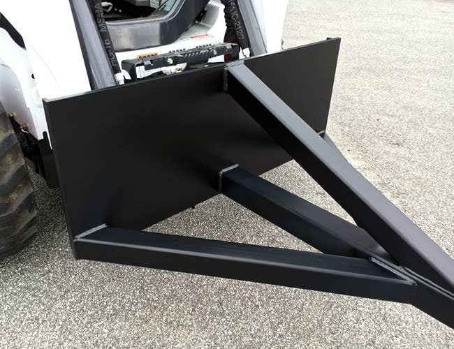 Himac Under Conveyor Scraper - quick to attach and easy to operate