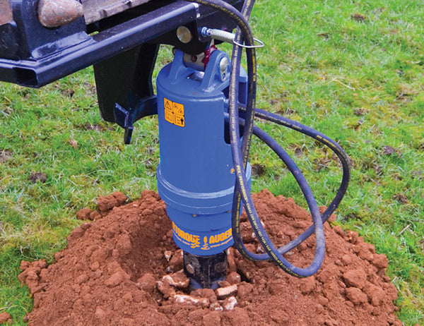 Select an auger to suit your Telehandler Auger Drive