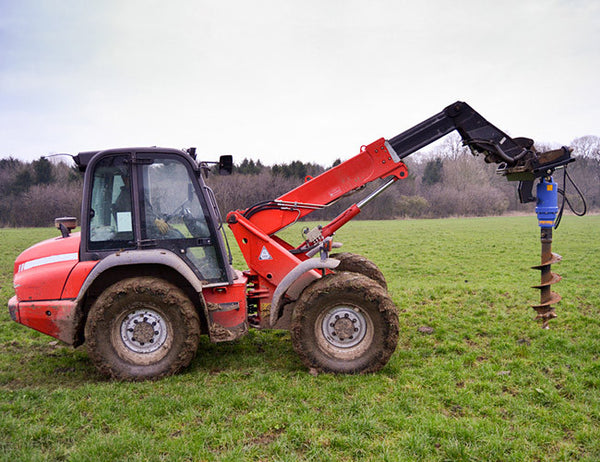 Achieve perfect earth drilling on the farm