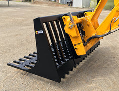 Power Rake Bucket