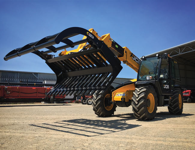 Maximise your Telehandler with a Himac Power Grapple