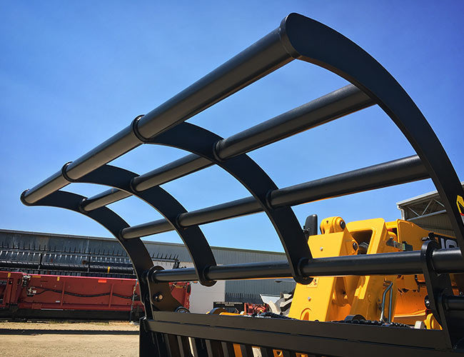 Extreme duty grapple with 80 NB horizontal bars