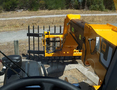 Stick Rake for Telehandlers from Himac