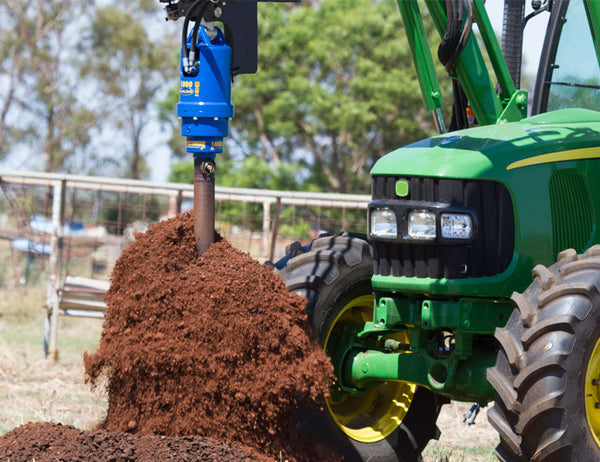 Post Hole Borers designed for Tractor Loaders
