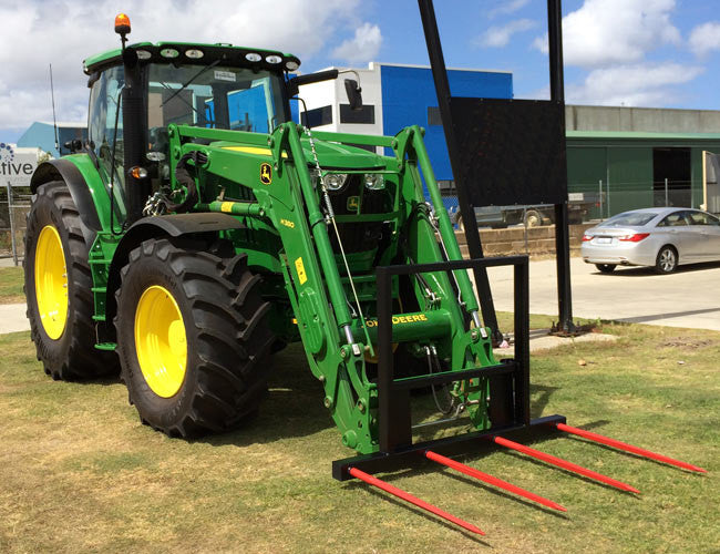 Himac Four Spear Hay Fork - Optional mounts available