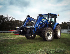 HaySpin suitable for Ag Loaders, 3PL, Telehandlers and more