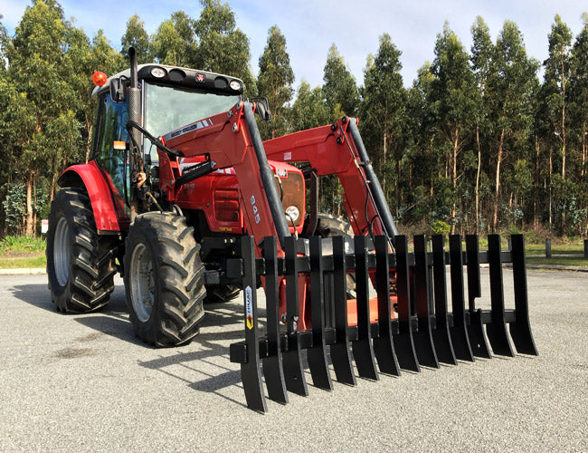Stick Rake designed for Tractor Loaders