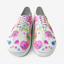 Load image into Gallery viewer, watercolor canvas shoes for teen, beautiful watercolor shoes for teenager,Unisex Canvas Shoes Fashion Low Cut Loafer Sneakers - Gadget.parts