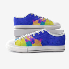 Load image into Gallery viewer, Unisex Low Top Canvas Shoes - Gadget.parts