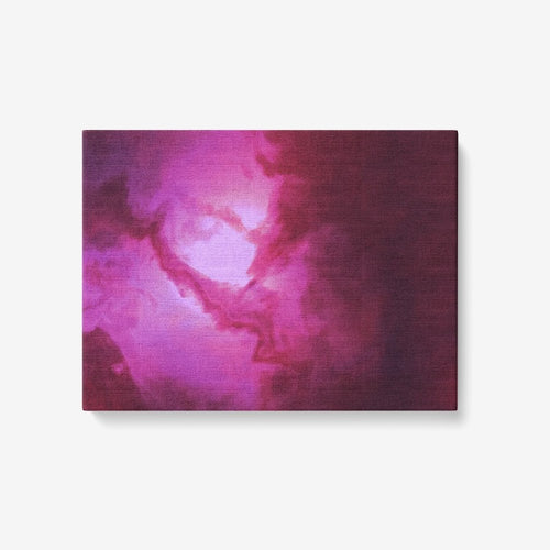 canvas wall decor art <Purple galaxy> art 2020 v1 1 Piece Canvas Wall Art for Living Room - Framed Ready to Hang 24