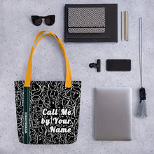 Load image into Gallery viewer, call me by your name bag, 15 inch call me by your name doodle Tote bag - Gadget.parts