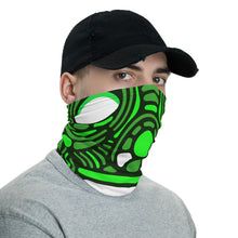 Load image into Gallery viewer, Green color Washable face shield and reusable face mask, Neck gaiter - free shipping - Gadget.parts