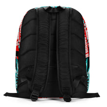 Load image into Gallery viewer, warning laptop bag, stay at home backpack,StayTheF**kHome laptop bag,Stay The F**k Home to defence / fighting for COVID-19 Minimalist Backpack - Gadget.parts