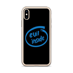 evil inside iphone case for geek Liquid Glitter Phone Case - Gadget.parts