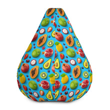 Load image into Gallery viewer, cool 3d all over printed fruits Bean Bag Chair w/ filling, 3d fruits Bean Bag Chair for home decor - Gadget.parts