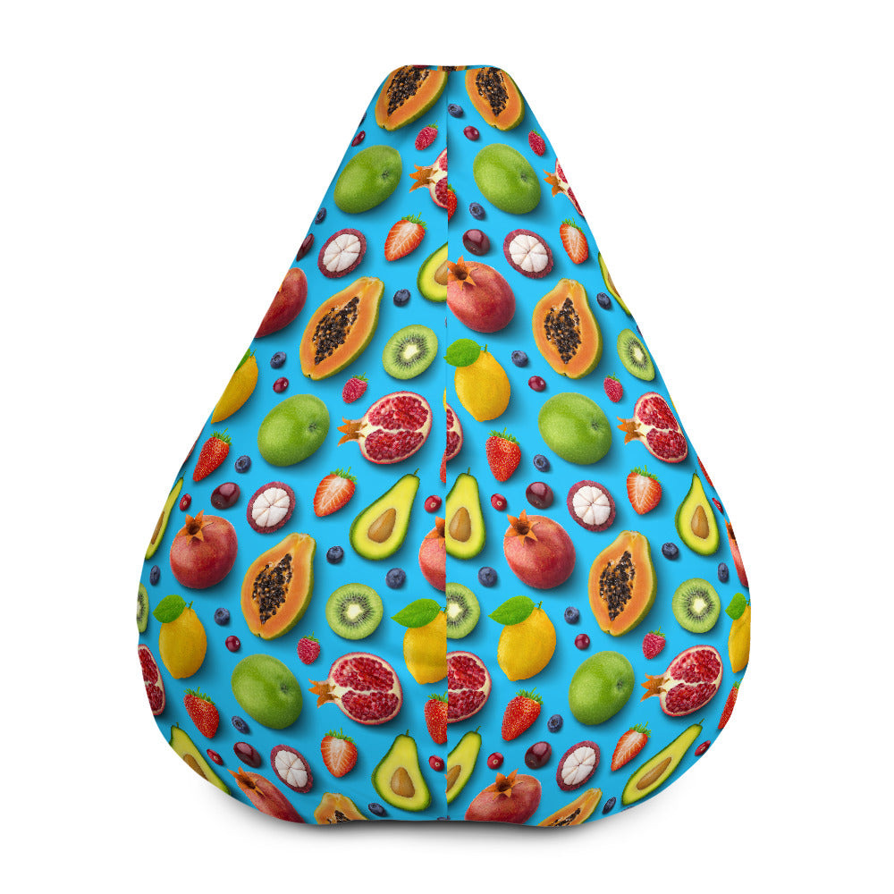 cool 3d all over printed fruits Bean Bag Chair w/ filling, 3d fruits Bean Bag Chair for home decor - Gadget.parts