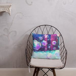 colorful digital oil painting abstract home decor Pillow - Gadget.parts