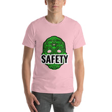 Load image into Gallery viewer, safety mask design t-shirt, mask tee Short-Sleeve Unisex T-Shirt,green mask t-shirt for men and women - Gadget.parts