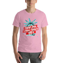 Load image into Gallery viewer, #StayTheF**kHome t-shirt,Stay The F**k Home to defence / fighting for COVID-19 Short-Sleeve Unisex T-Shirt - Gadget.parts