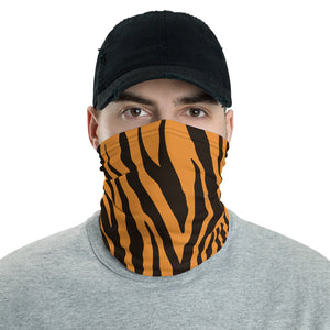 Tiger pattern face shield,Washable face mask, reusable face shield. Neck gaiter - Gadget.parts